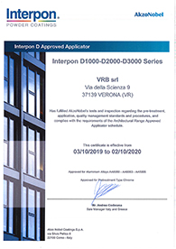 Qualicoat Interpon Certification